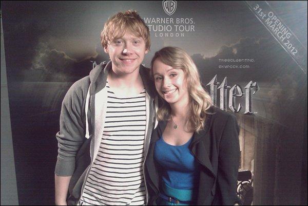 . APPARITION _'Le site MSN.Uk a publier qu'ils s'appr�tait � passer une interview de Rupert au Studio Harry Potter..