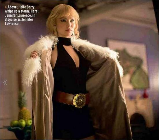 .   05/02/2014 :  Jennifer a �t� vue sur le tournage d'Hunger Games 3 : Mockingjay, � Atlanta    Pour rappel, Jennifer porte une perruque en raison de sa r�cente coupe de cheveux.