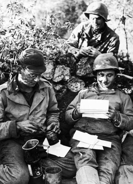 Lettre U.S. WW2
