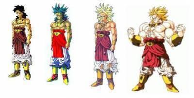 Les Transformations De Broly Dragon Ball Z