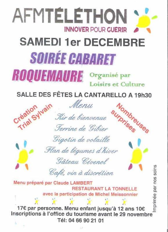 M.I.N.A En Show pour le Téléthon à Roquemaure (30)