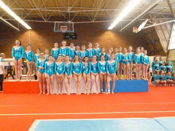 10 podiums finist�riens pour La Quimp�roise gymnastique