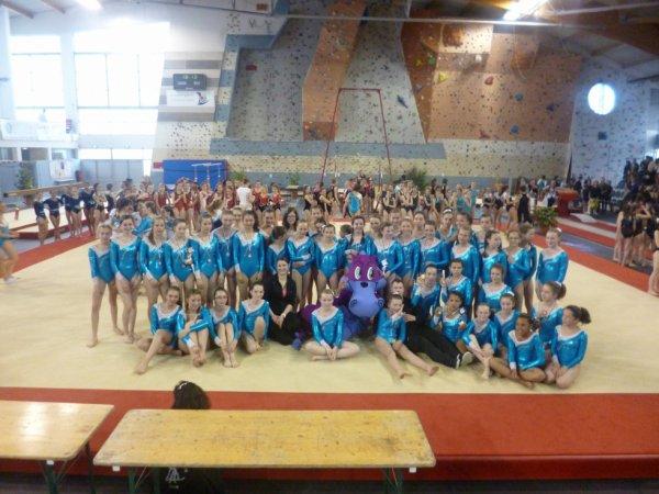 13 podiums bretons pour La Quimp�roise gymnastique � Lanester