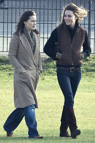 William And Kate At Eton College Old Boys Field Game 18