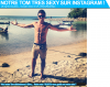 Notre Tom tr�s sexy sur Instagram ! Notre note: 8/10 !
