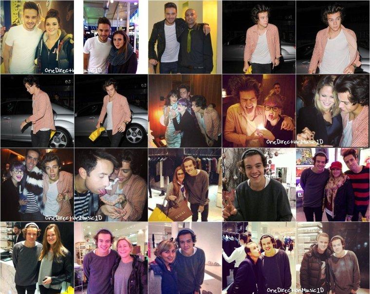 Harry à Londres - 7 Novembre 2013 + Harry & Liam à Londres - 8 Novembre 2013 + Harry & Liam à Londres - 9 Novembre 2013 + Niall à Mullingar - 9 Novembre 2013 + Harry à Londres - 10 Novembre 2013 + Harry faisant son jogging à Londres - 11 Novembre 2013 + Niall à l'O2 pour la finale de tennis - 11 Novembre 2013 + NEWS / RUMEURS / VIDÉO ...