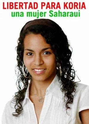 ¡¡Libertad para Koria, una mujer saharaui!!