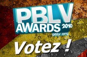 PBLV Awards : Votez pour votre com�dienne pr�f�r�e !