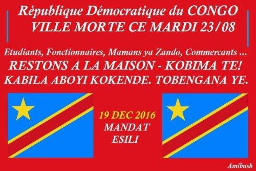Ewanga confirme la participation de Kamerhe et l'UNC au dialogue de Kabila