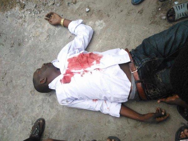 Premi�res images de la marche � Kinshasa ce lundi 19 septembre