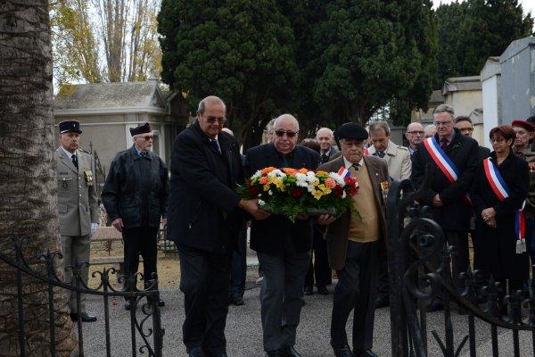 C�r�monie d'Hommage aux Morts pour la France   Canet  5 d�cembre 2015