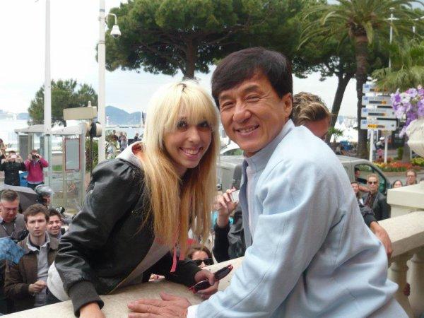 J'ai vu Jackie Chan, et je suis la plus fiere ! ♥