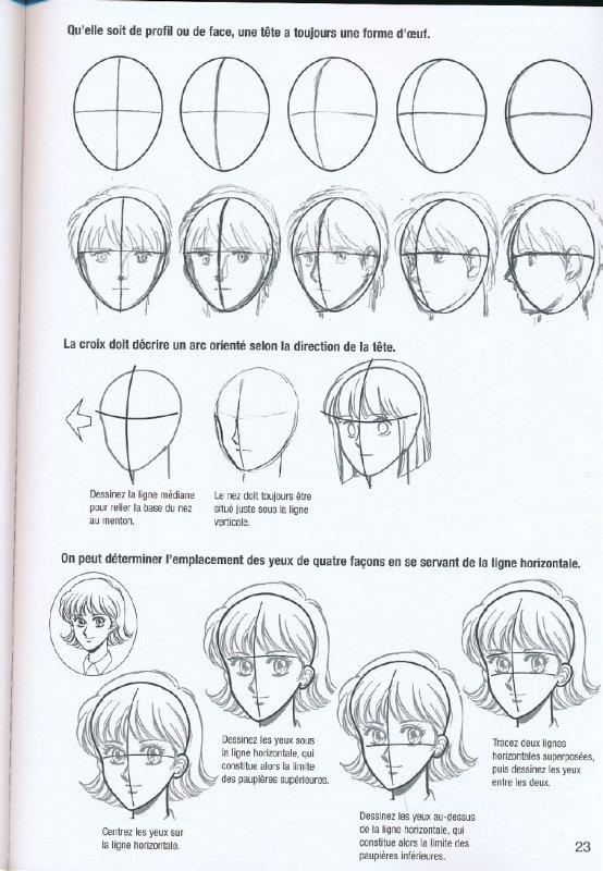 Adm apprendre dessiner manga cours 1 chapitre 2 manga illusion - Apprendre a dessiner des chevaux ...