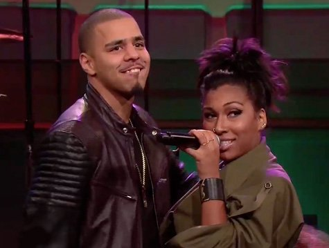 """Melanie Fiona Perform """"This Time ft J.Cole on Jay Leno"""