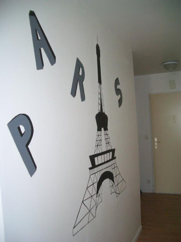 Peindre dessin mur