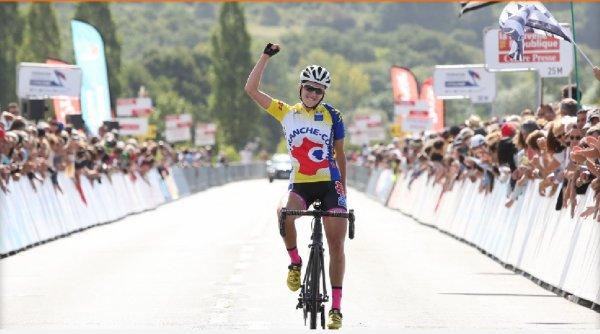 Juliette Labous (Franche-Comt�) Championne de France Juniors Dames.(le samedi 20 ao�t 2016)