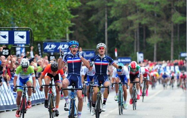 Nicolas Malle (France) a remport� ce vendredi, � Plumelec (Morbihan),Championnat d'Europe Juniors Hommes.