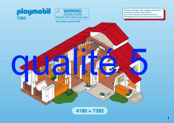 plan montage playmobil. Black Bedroom Furniture Sets. Home Design Ideas