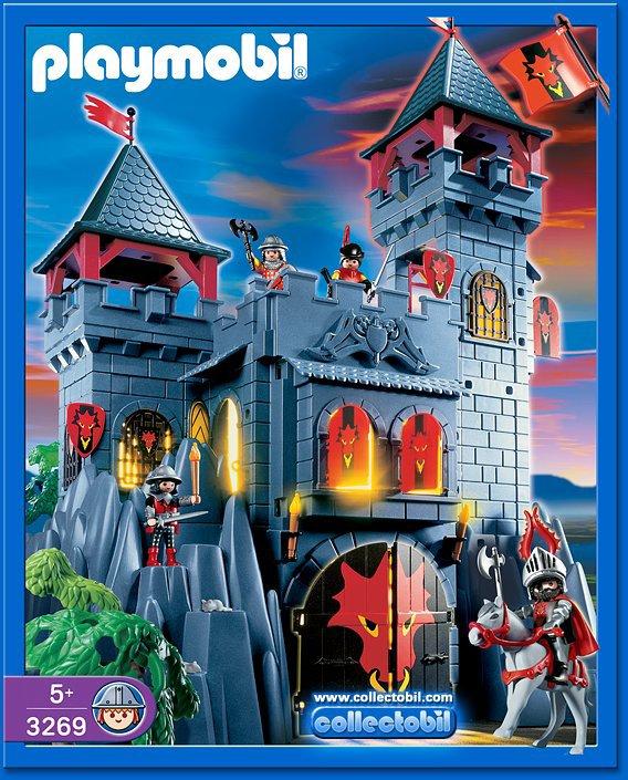 4b special histoire moyen age ch teau fort 3269 for Notice de montage chateau princesse playmobil