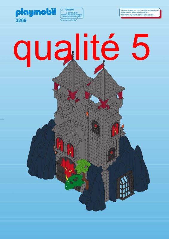 Playmobil Lion Castle Instructions