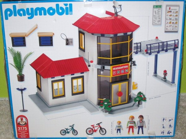 Articles de boblebrestois playmobil tagg s notice - Caserne pompier playmobil pas cher ...