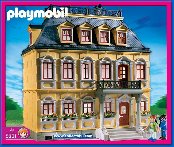 Articles de boblebrestois playmobil tagg s notice for Maison traditionnelle 5301