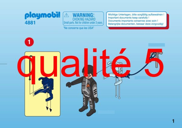 PLAYMOBIL 4881 Agent Secret  Achat / Vente univers miniature  Cdiscount
