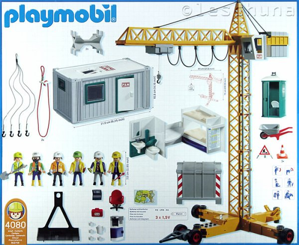 grue playmobil. Black Bedroom Furniture Sets. Home Design Ideas