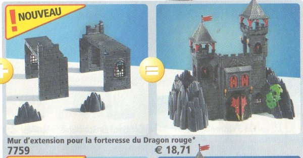 Notice playmobil 3269 for Plan chateau fort playmobil