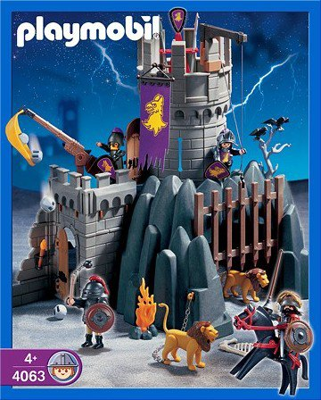 playmobil castle 4866 instructions