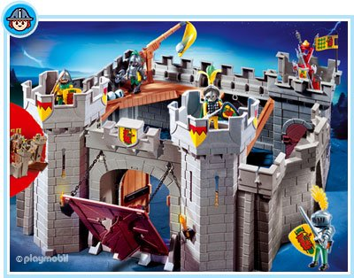 4b special histoire moyen age ch teau fort 5783 - Chateau chevalier playmobil ...