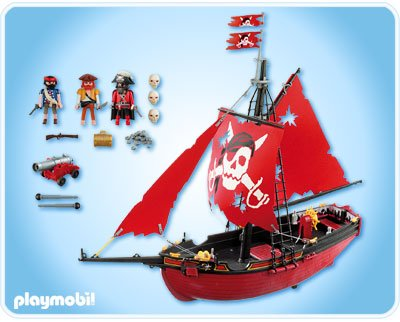 5810 bateau corsaire de playmobil. Black Bedroom Furniture Sets. Home Design Ideas