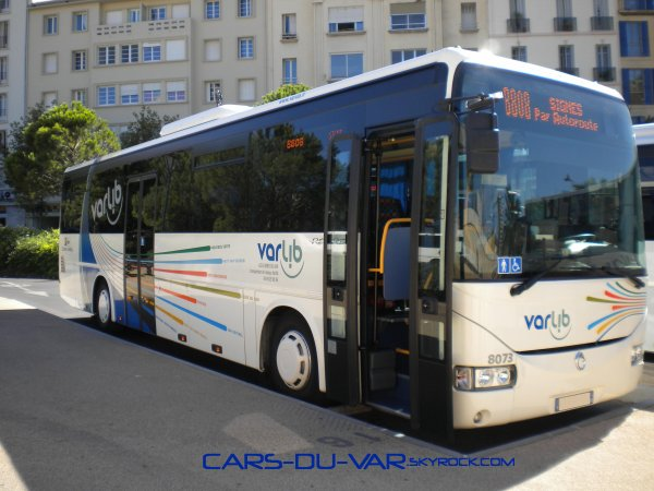 irisbus recreo ii les autocars du var. Black Bedroom Furniture Sets. Home Design Ideas