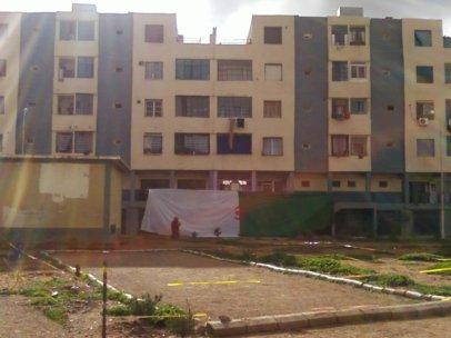 Cambriolage d'un appartement à la cité des 270 logts