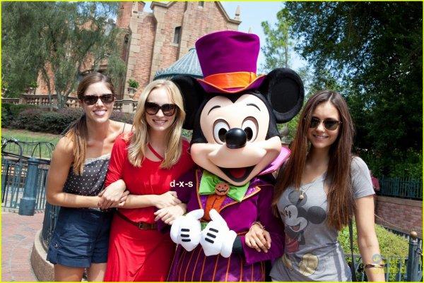 Nina , Candice et Kayla a Disney