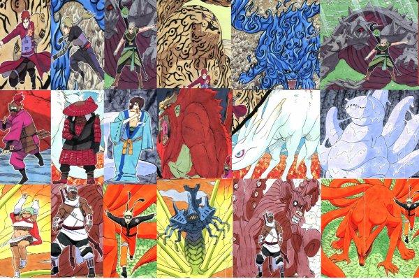 image des 9 demons dans naruto