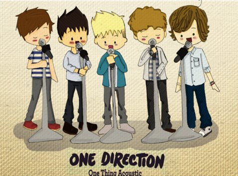One Direction Trop Chou Se Dessin