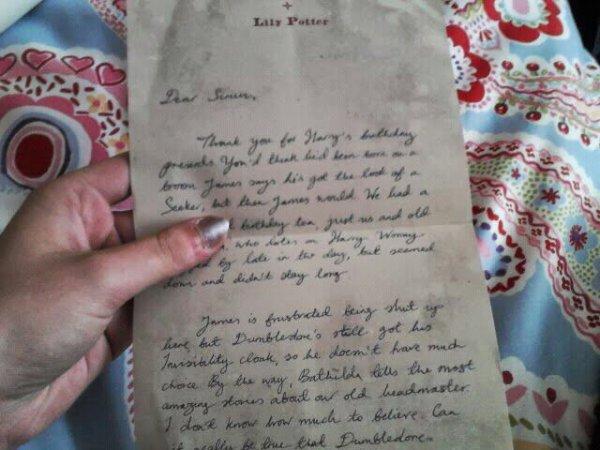 La boîte d'artefacts d'Harry Potter