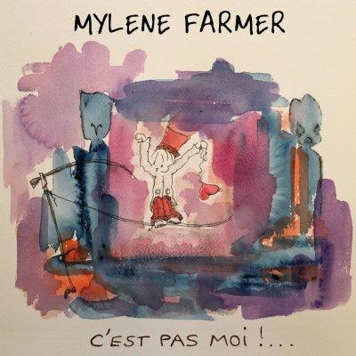 Au-delà de l'ombre  Mylène Farmer - C'est pas moi (clip non officiel 2016)