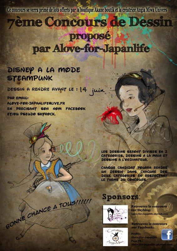 Concours dessins 7 : Th�me : Disney a la mode steampunk
