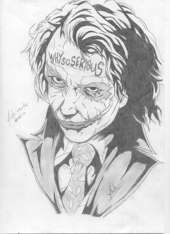 Joker the dark knight blog de mick rocks dessin - Le joker dessin ...