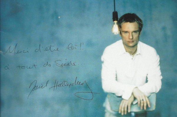 David Hallyday.