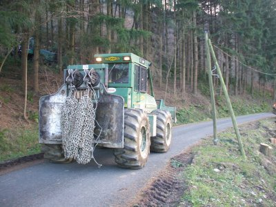 tracteur forestier franklin