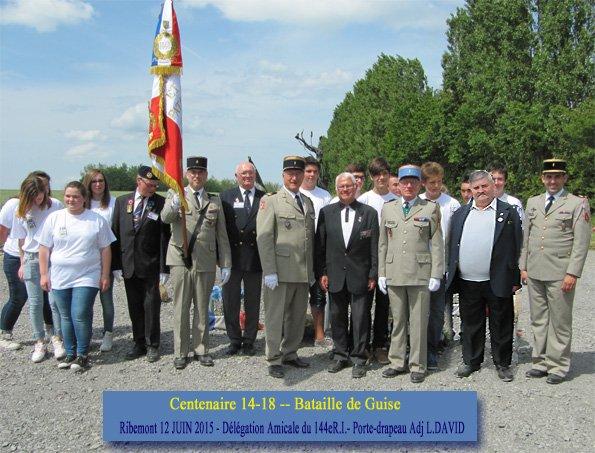 souvenir du 12 juin 2015 a Ribemont (l Aisne)