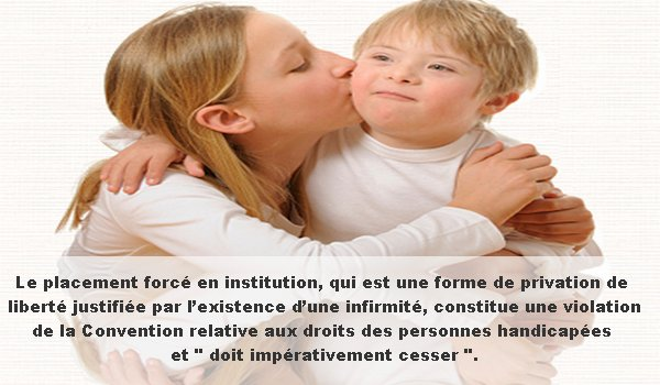 Privation de libert� sur l'existence d'une infirmit�