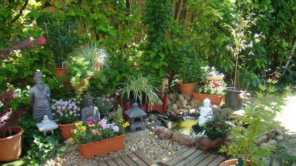 Mon jardin blog de niki1958 - Faire un petit jardin zen saint paul ...