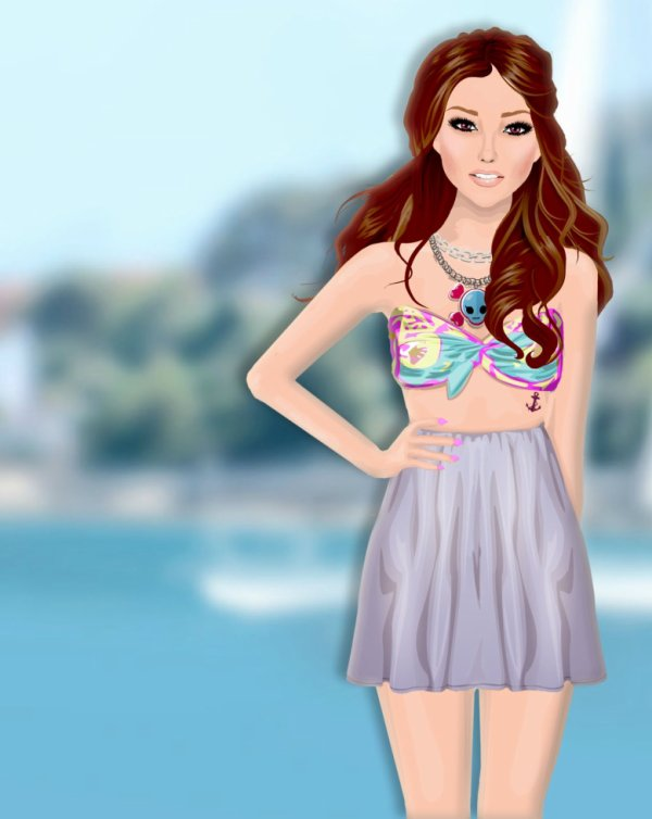New Montage. Strawberyfleur - Clothilde. :*