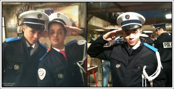 [23/12/10]  Booder et Samy sur le tournage de capitaine khalid le nouveau film de djamel bensallah !