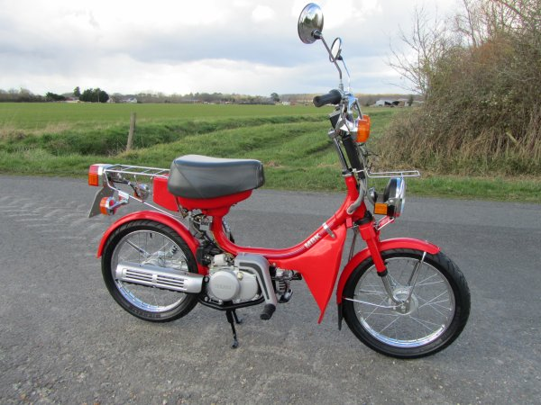 Red Yamaha Chappy