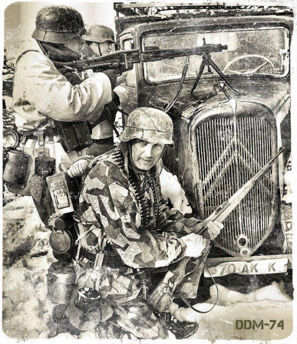 DDM-74 ... Kampfgruppe WILDE !!!